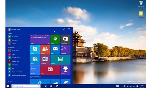 Personalizzare il profilo con Windows 10